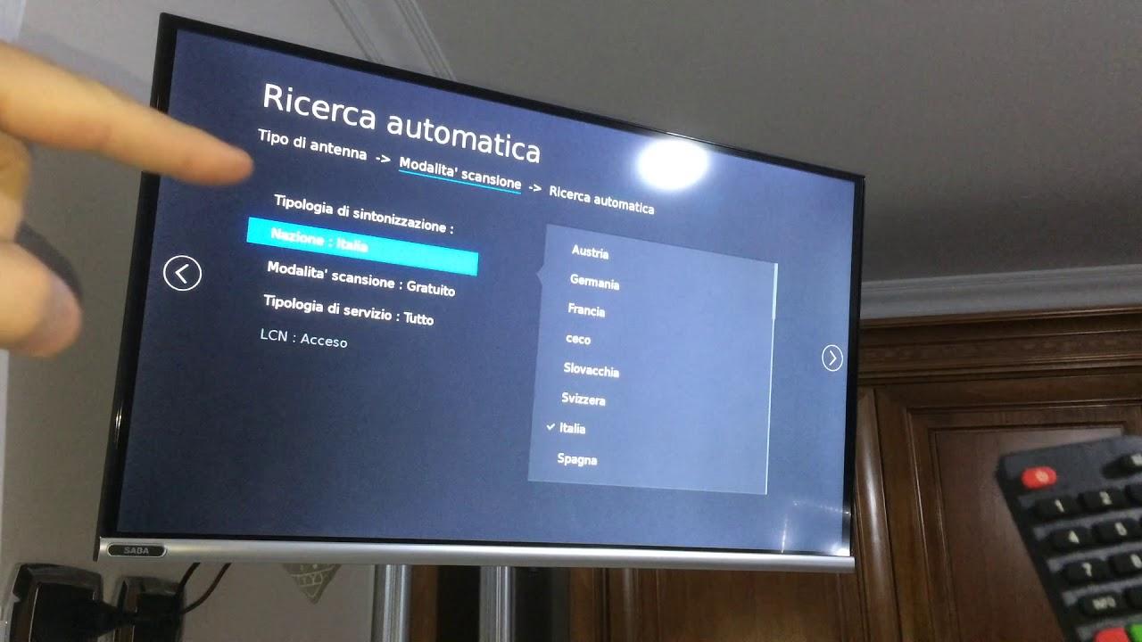 Download Come fare la ricerca canali Smart Tv Saba