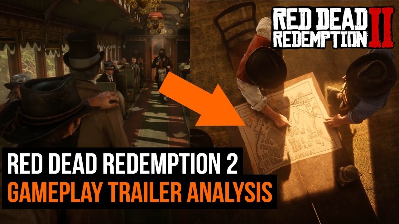 Red Dead Redemption 2 Gameplay Trailer Analysis - Everything You Missed