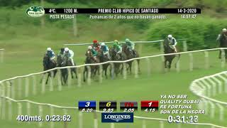 Vidéo de la course PMU PREMIO CLUB HIPICO DE SANTIAGO