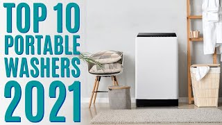Top 10: Best Portable Washers of 2021 / Compact Washing Machine / Automatic Laundry Washer & Dryer