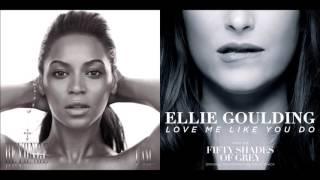 Love Me Like a Halo - Beyoncé vs. Ellie Goulding (Mashup)
