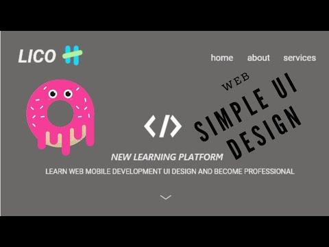 UI Design tutorial // Web Design // Front end web Development thumbnail