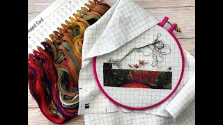 Summer Cross Stitch Update - I'm Officially Addicted to HAED
