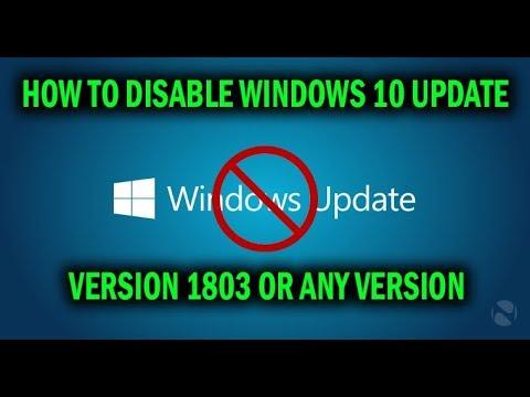 windows 10 1803 disable auto restart
