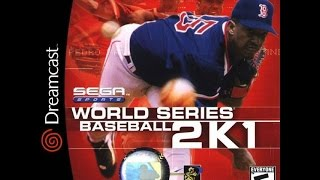 World Series Baseball 2K1-  DC 2000 (NYY vs BOS Exhibition)