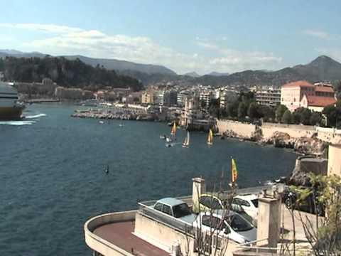 porto Nice , Villefranche-sur-Mer e Monaco