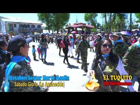 Batallones Acolla 2018Desfile de Sábado de Gloria
