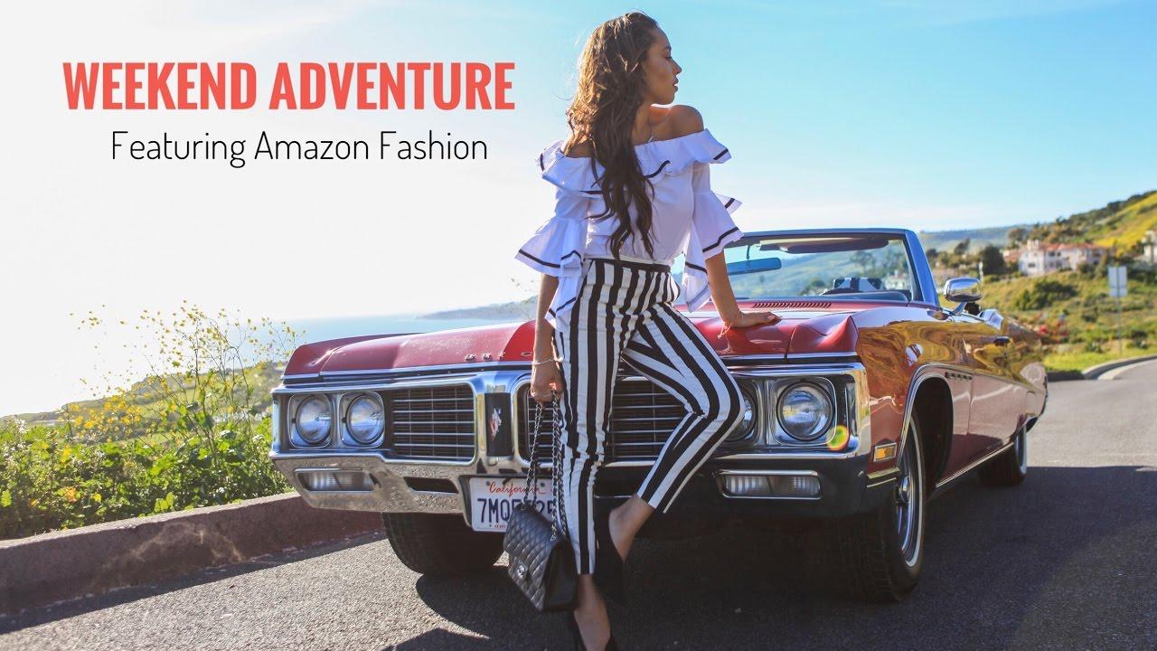 Weekend Adventure Featuring Amazon Fashion | Elizabeth Keene