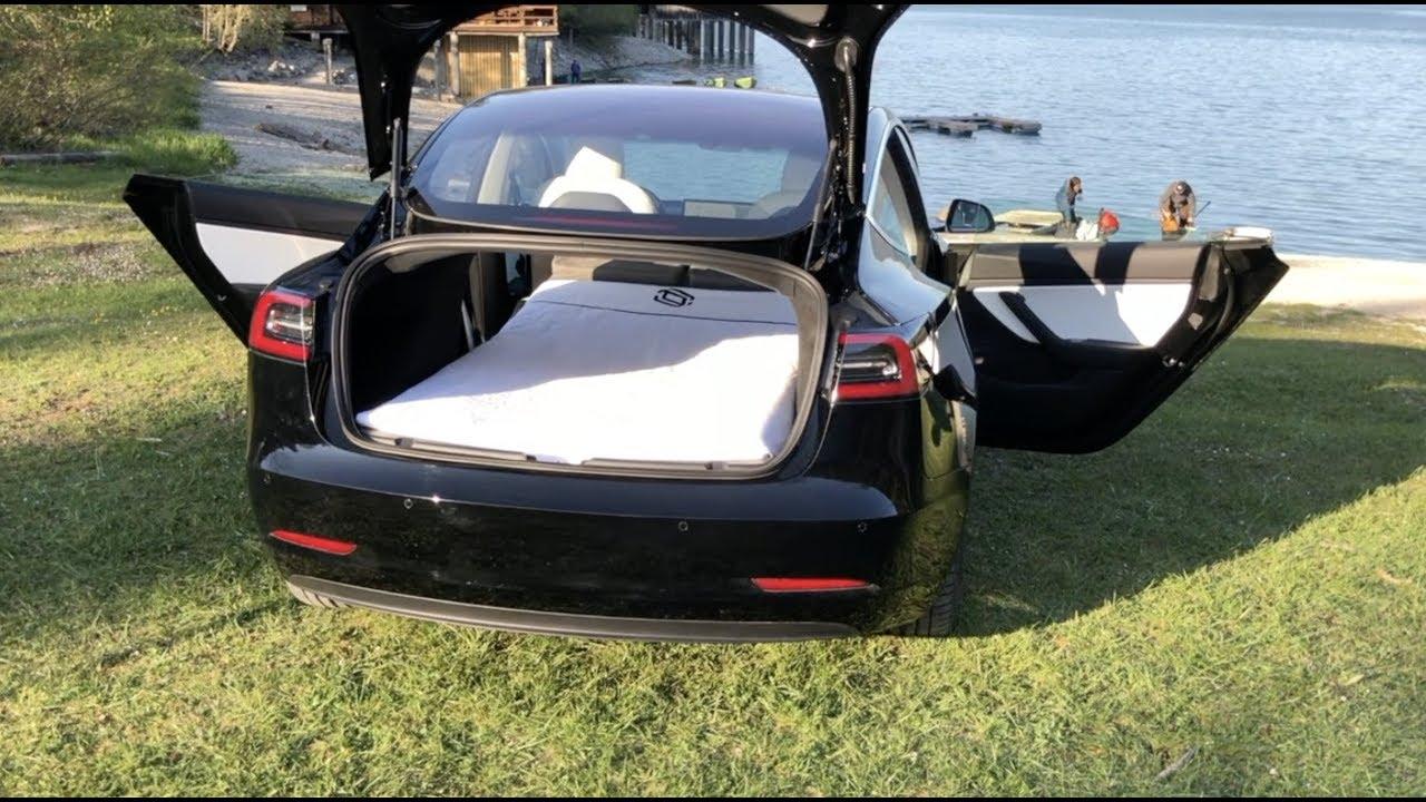 Sleep in Tesla Model 3