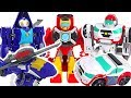 Transformers Rescue Bots Academy Medix, Whirl! Save the tiny dinosaur! #DuDuPopTOY