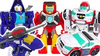 Transformers Rescue Bots Academy Medix, Whirl! Save the Dino Mecard tiny dinosaur! #DuDuPopTOY