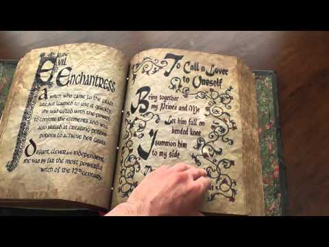Full Flip Through Of My Charmed Book Of Shadows Replica