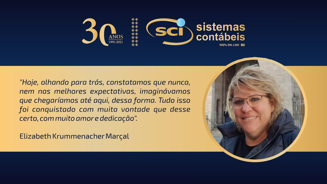 SCI 30 ANOS: um sonho conquistado