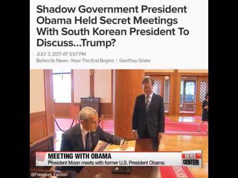 Shadow Government meeting about Donald Trump