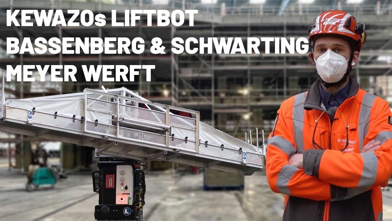 LITBOT dauerhaft in der Meyer Werft
