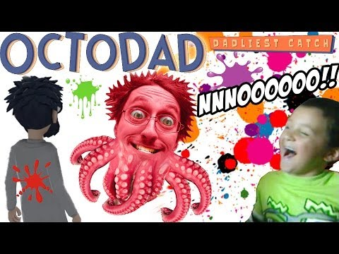 OctoDad: Dadliest Catch Part 4 - NNOOOOO!! Aquatic Fun Center w/ MIKE (PC Face Cam Commentary)