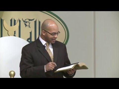 Knowledge of Allah (God) Brings Life- Khutbah Mosque Maryam National Center