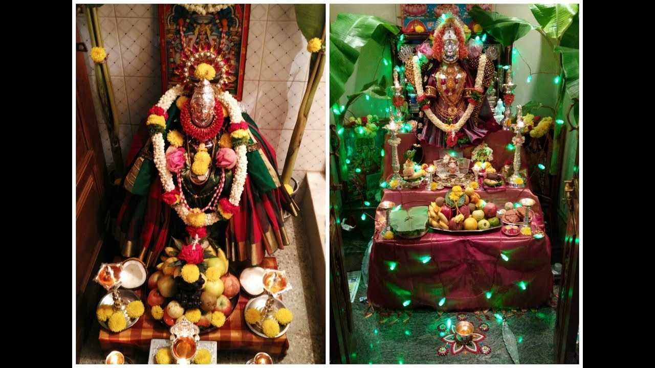 Varamahalakshmi Decoration Ideas