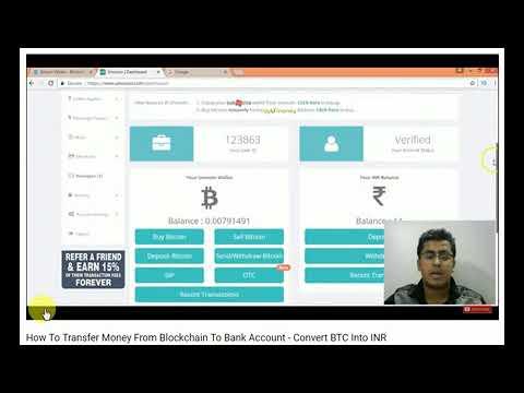 send money blockchain