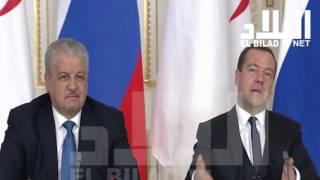 زيارة سلال إلى روسيا تتوج بالتوقيع على اتفاقيات هامة - el bilad tv -