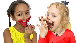 Kids Staged a Chocolate Challenge: Stories for Kids About Sweets & Candy by Little Panda