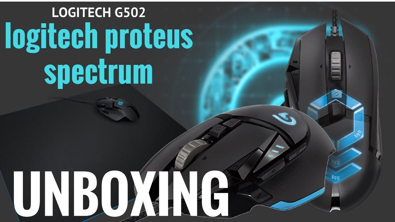 Unboxing Y Rewiew Logitech G502 Proteus Spectrum Rgb Gaming Mouse