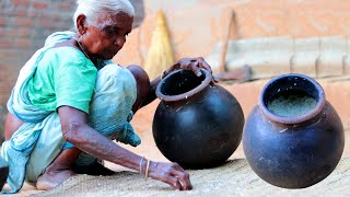 RICE WINE Prepared by Tribe People!!! How to Make Rice Wine and Pork Curry at Home