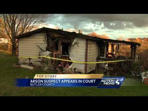 Woman charged with setting fire that gutted Connoquenessing Township home