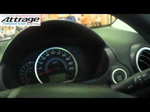 Review Mitsubishi Attrage GLS CVT ในรูปแบบคลิป รีวิว แอททราจ อีกรุ่นครับ ทุกซอกทุกมุม