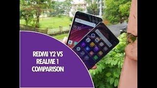 Xiaomi Redmi Y2 vs Realme 1 Comparison- Camera, Software and Performance