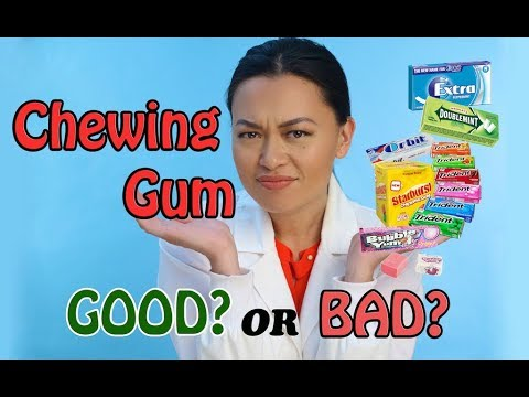 Ask A DENTIST, Dr. Lisa....Is Chewing Gum Bad For Your Teeth??