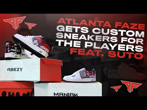 THESE ARE THE BEST CUSTOM SHOES IN GAMING | Atlanta FaZe