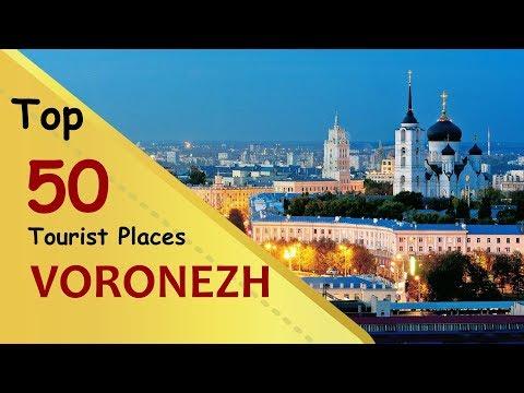 VORONEZH Top 50 Tourist Places | Voronezh Tourism | RUSSIA