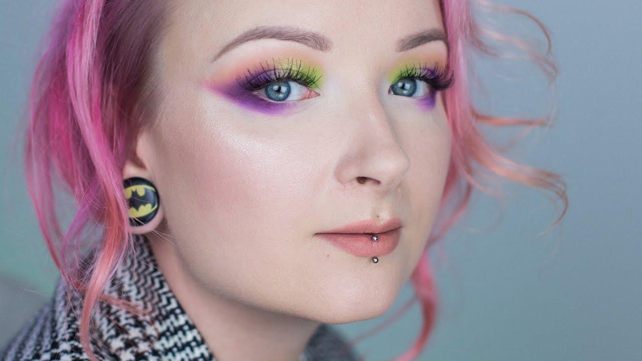 Makijaż krok po kroku kosmetykami z drogerii ✨ Zorza polarna ✨ Red Lipstick Monster