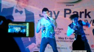 (Fancam) Jay Park-Up and Down