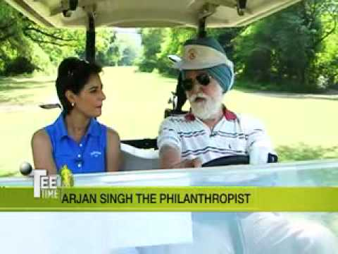Arjan Singh - Marshal of the Air Force on Tee Time With Shaili - 3.flv