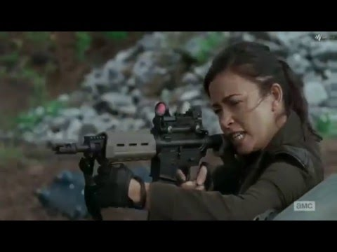 The Walking Dead 6x14: Daryl VS Dwight. HD Highest Quality