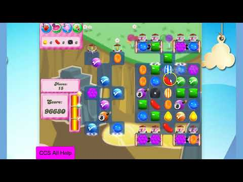 Candy Crush Saga Level 2842 NO BOOSTERS Cookie