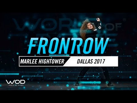 Marlee Hightower | FrontRow | World of Dance Dallas 2017 | #WODDALLAS17