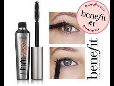 Demo: Benefits They're Real Mascara!! - YouTube