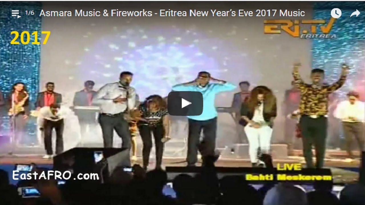 Asmara music fireworks eritrea new years eve 2017 music youtube m4hsunfo