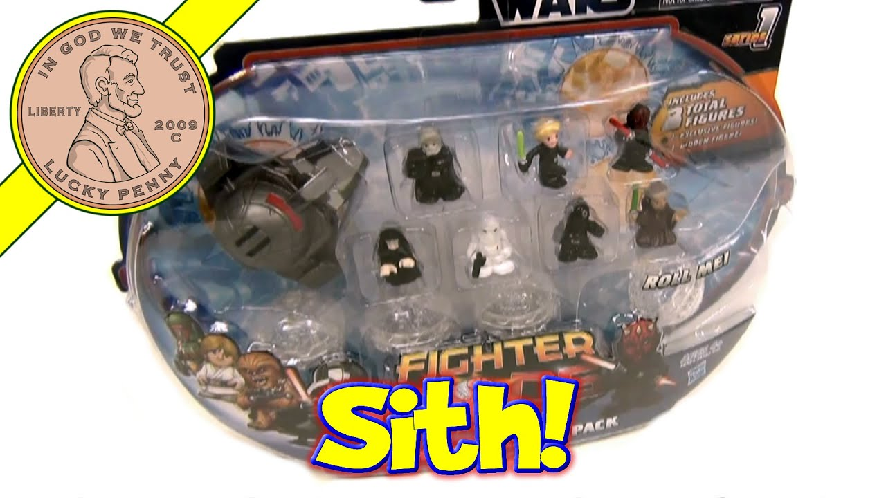 Star Wars Fighter Pods Series 1 Sith Infiltrator Pack Opening & - Video 4 Of 7
