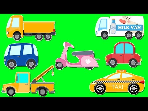 LIGHT VEHICLE SERIES | STREET VEHICLES | CARS AND TRUCKS VIDEOS FOR KIDS