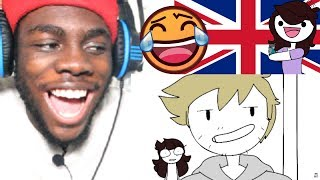 My Weird Trip to the UK by Jaiden Animations REACTION!!!