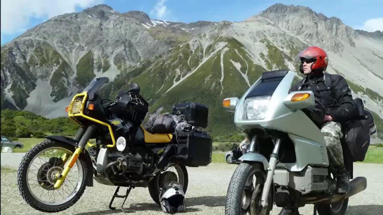 New Zealand motorcycle adventure \ На мотоцикле по Новой Зеландии