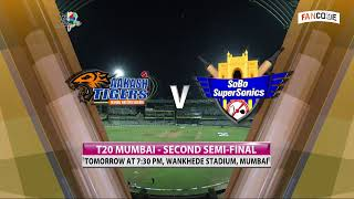 Mumbai T20 League 2019 | Arcs Andheri vs North Mumbai Panthers | Semifinal 1 | Live