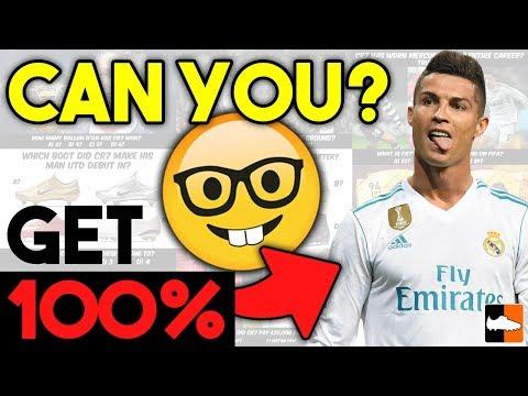 Do You Know Cristiano Ronaldo? CR7 Quiz Challenge!