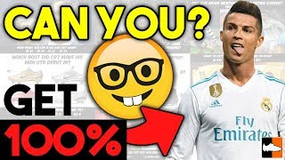 Do You Know Cristiano Ronaldo? CR7 Quiz Challenge!