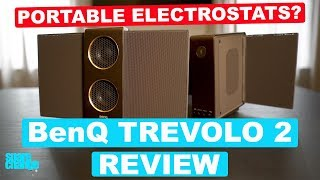 GIVEAWAY! Audiophile Bluetooth Speakers? BenQ treVolo 2 Electrostatic Bluetooth Speaker Review