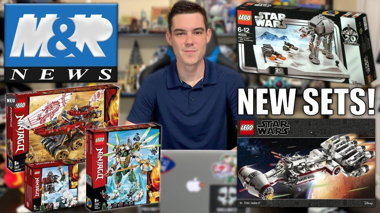 LEGO Star Wars May The Fourth Promo! LEGO Ninjago Summer 2019 Sets! 75244 Tantive IV! | LEGO NEWS